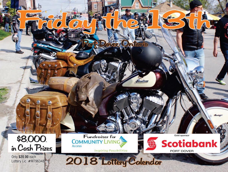 PD13 - 2018 Lotter Calendar
