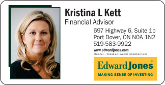 Edward Jones – Kristina Kett – Port Dover