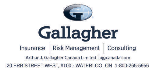 Gallagher Insurance – 2019 Calendar Page Sponsor