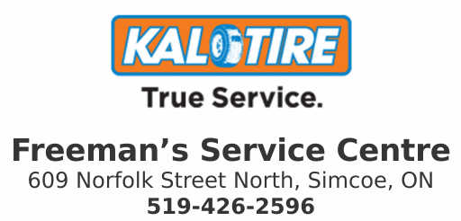 Kal Tire – Freemans Service Centre – Simcoe