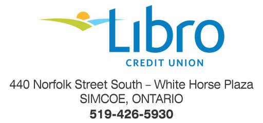 Libro Credit Union – Simcoe – 2019 Calendar Bronze Sponsor