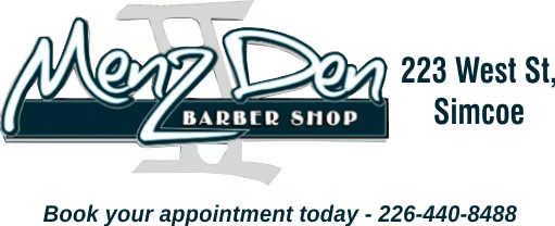 Menz Den II Barber Shop Simcoe – 2019 Calendar Page Sponsor