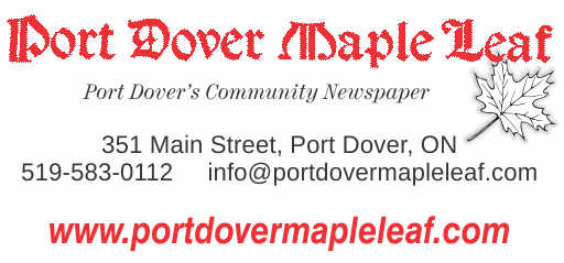 Port Dover Maple Leaf – 2019 Calendar Page Sponsor