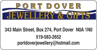 Port Dover Jewellery & Gifts – 2019 Calendar Bronze Sponsor