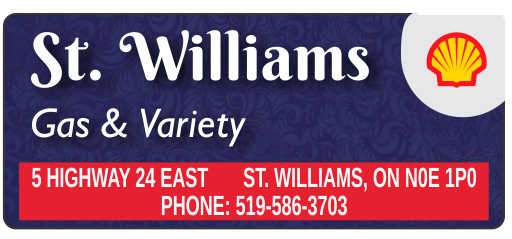 St Williams Shell Gas & Variety – 2019 Calendar Page Sponsor