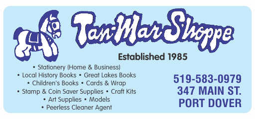 The Tan-Mar Shoppe – Port Dover